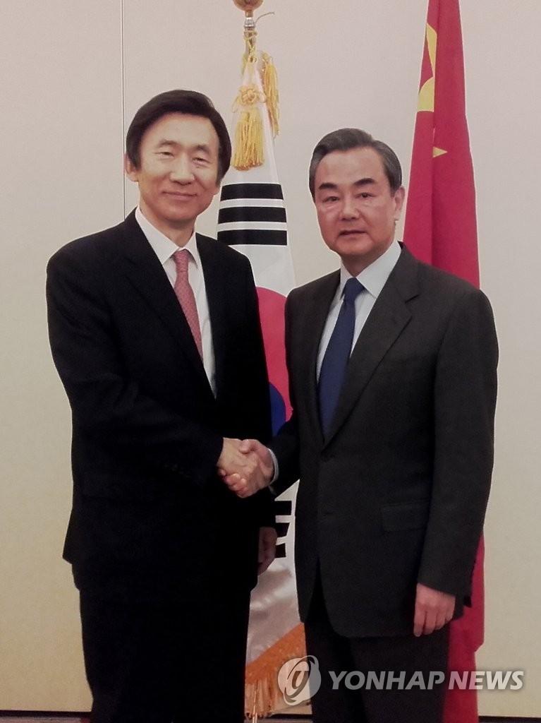 韩中外长在德国谈对朝制裁
