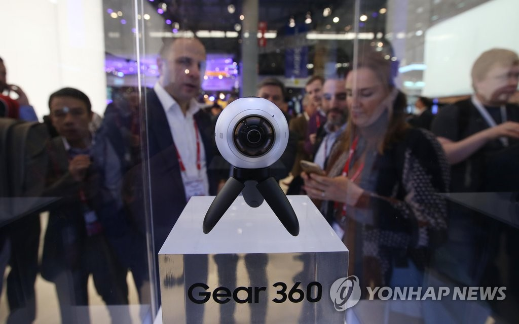 三星Gear 360亮相MWC