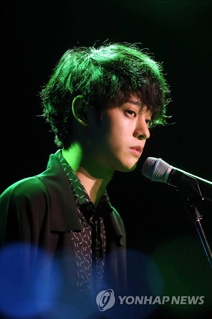 歌手郑俊英新专辑试听会