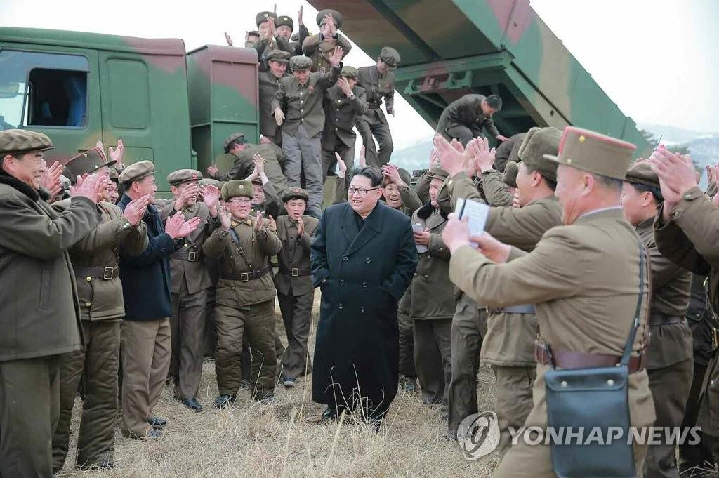 详讯:金正恩指示做好随时发射核弹头准备