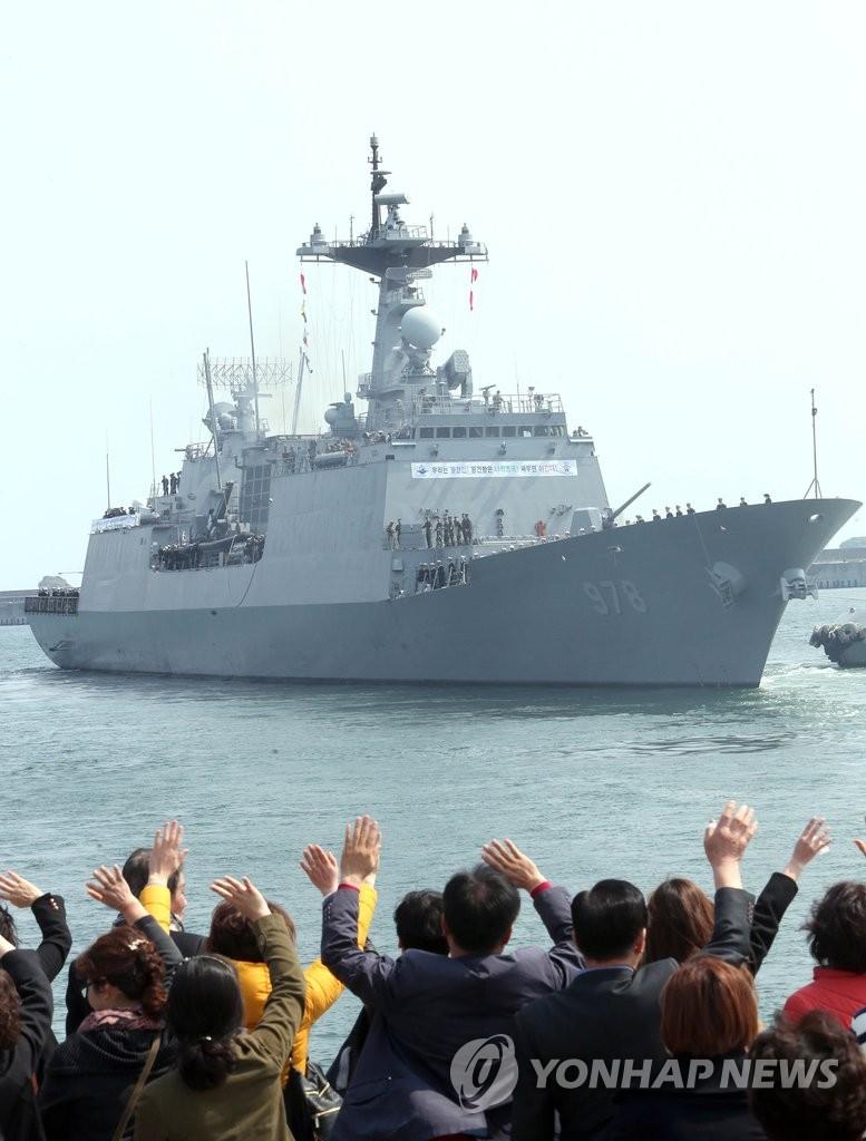 青海部队第21梯队前往亚丁湾