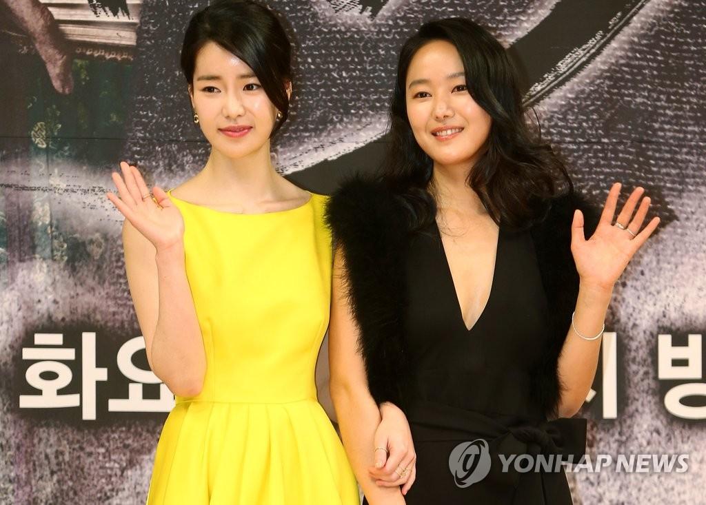 演员林智妍和尹珍熙