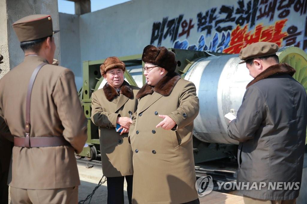 金正恩指导炮兵演习 威胁踏破首尔统治机关统一韩国