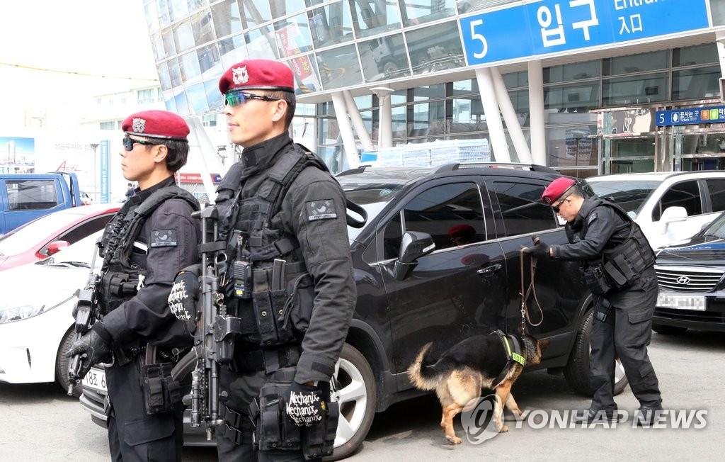 韩实施军警官民联合演习以应对朝鲜恐袭