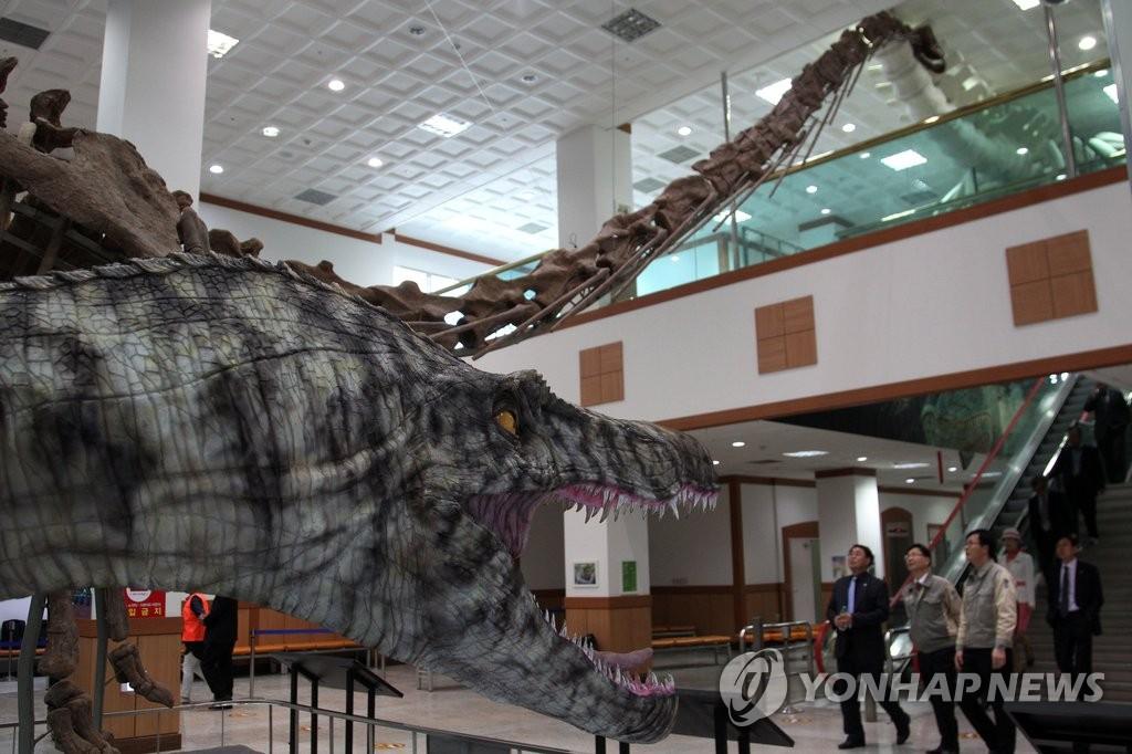 2016固城恐龙国际博览会拉开帷幕
