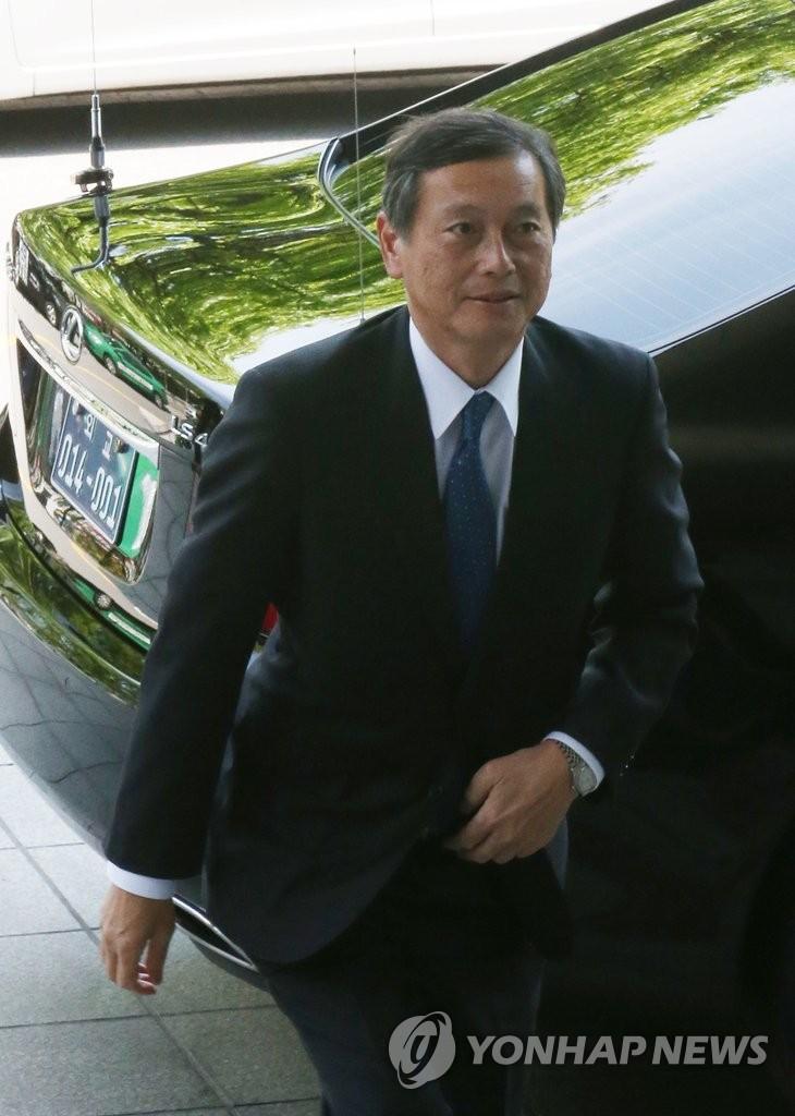 日本外务省事务次官访韩