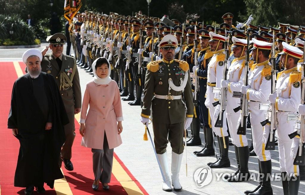 韩伊首脑会谈签署66项MOU 经济效益逾2900亿元