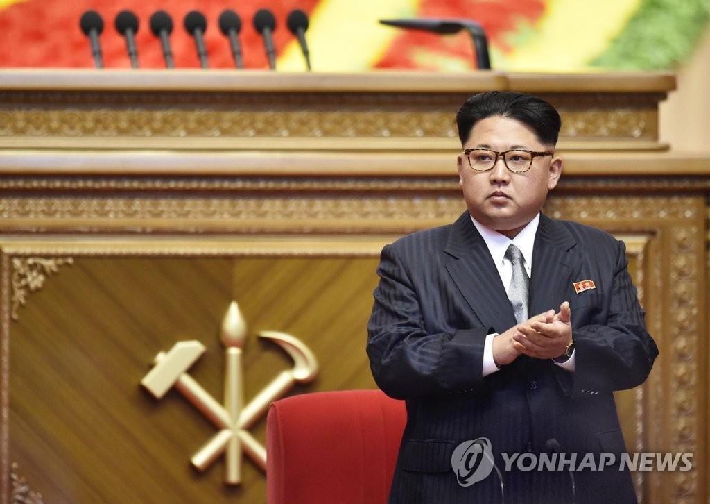 金正恩被推举为劳动党委员长