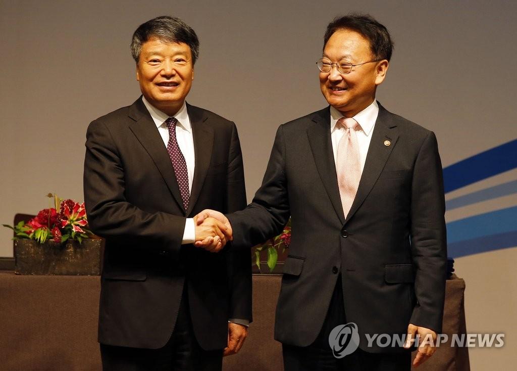 """韩财长吁韩中合作实现""""韩中梦"""" 提出合作方向"""