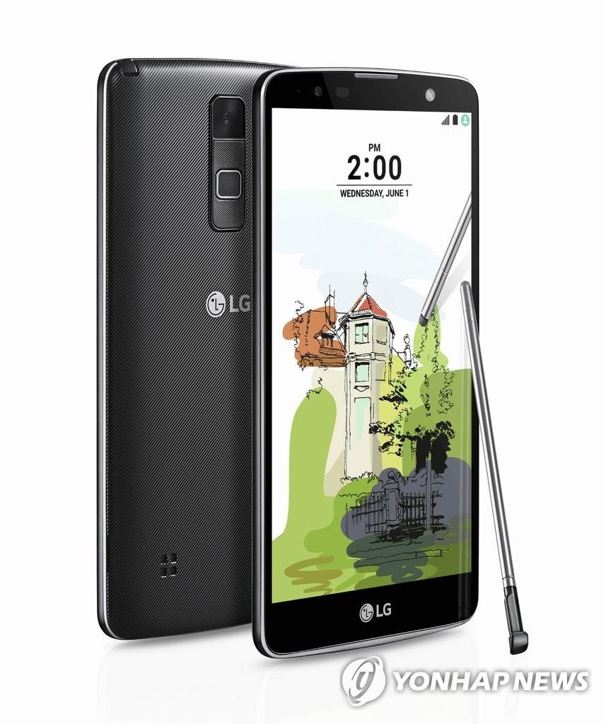 LG电子智能新品Stylus 2 Plus面市