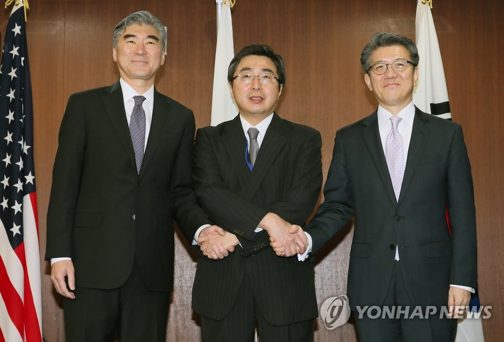 韩美日副外长会商定继续制裁朝鲜