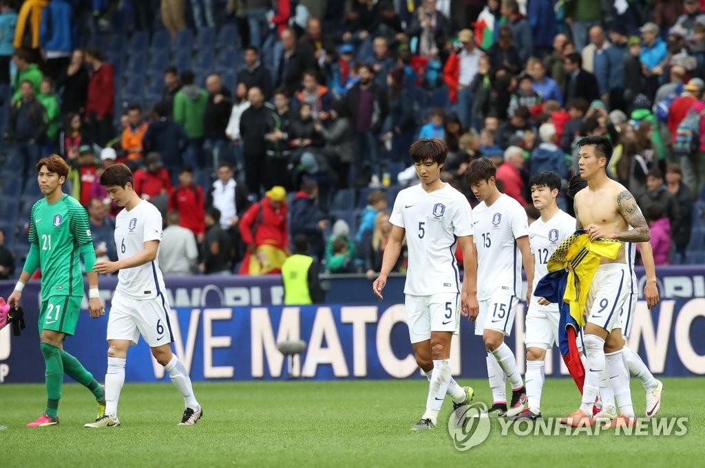 韩国1比6惨败于西班牙
