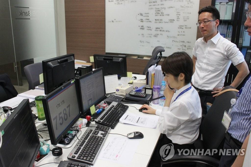 韩中货币直接交易市场在上海启动