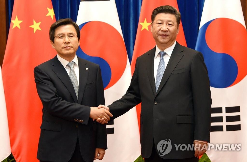 韩总理黄教安与习近平举行会晤