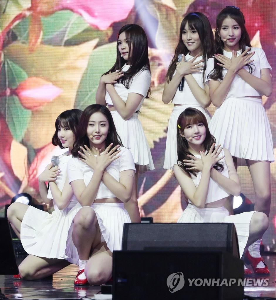GFRIEND今年获23项音乐节目冠军 创韩女团新高