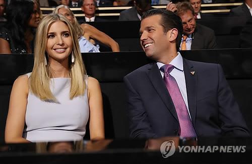特朗普长子在韩转机抽空游首尔