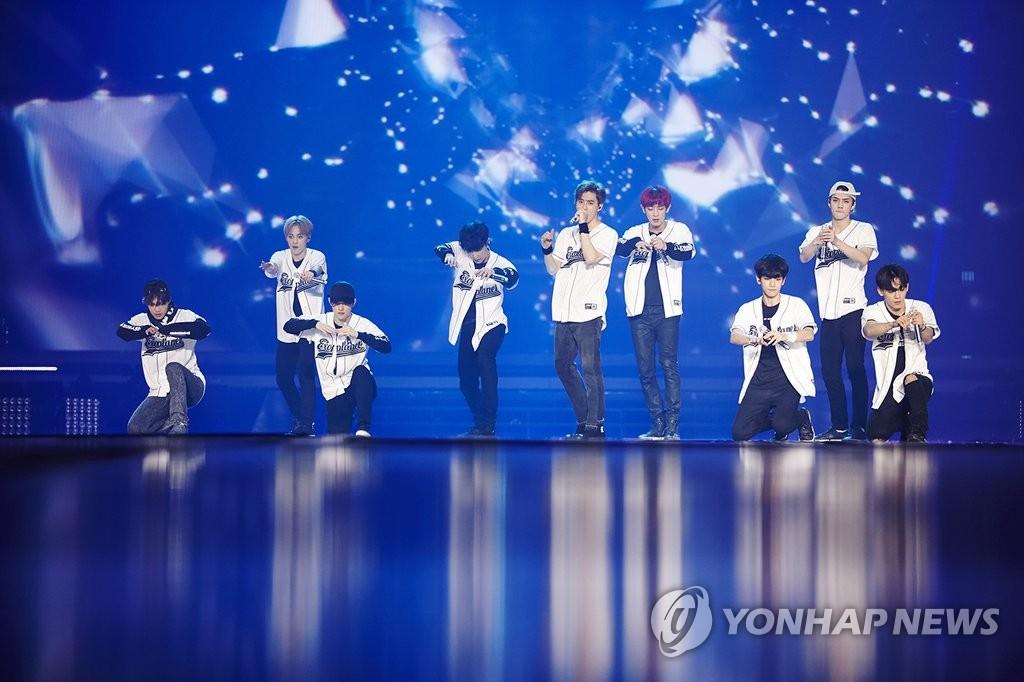 EXO三巡安可演唱会5月在首尔举办