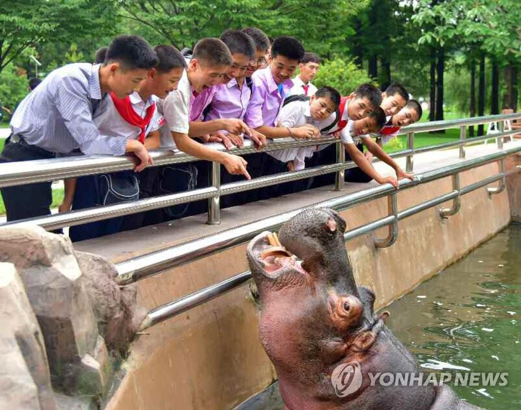 朝鲜平壤中央动物园竣工