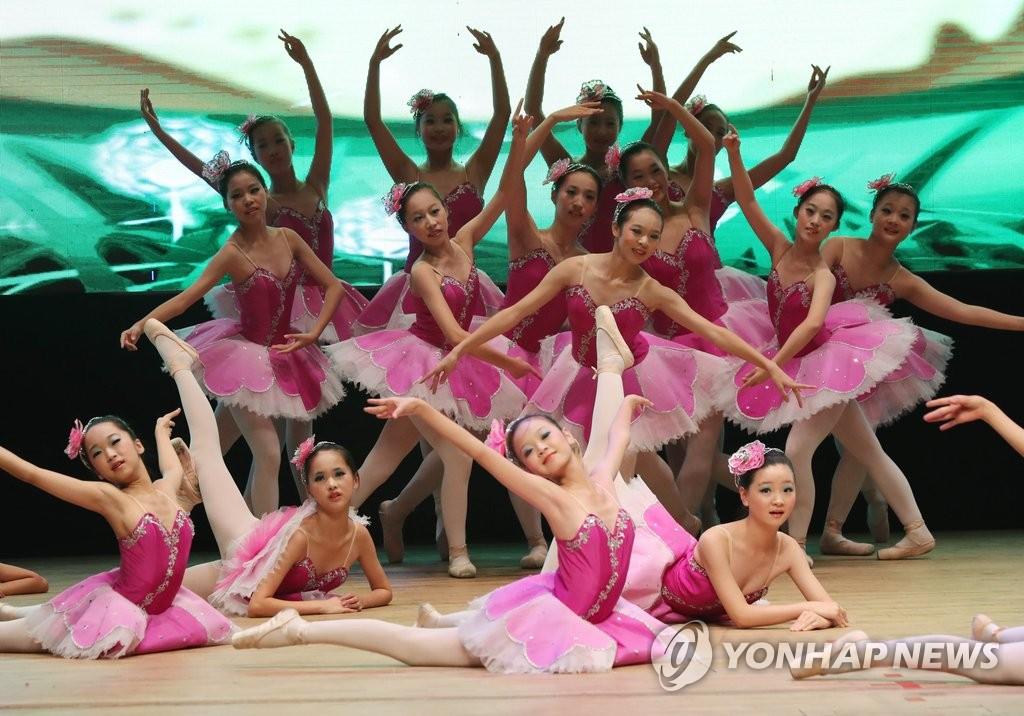 中国青少年群舞