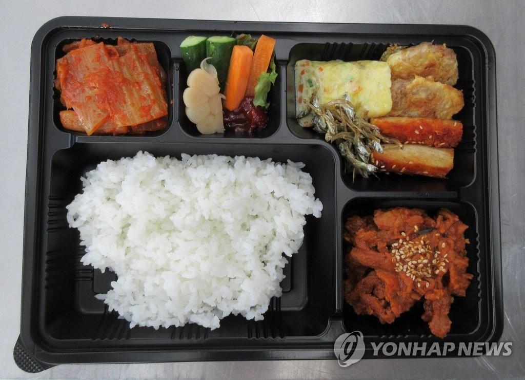 韩国健儿在里约奥运上享用的韩式便当