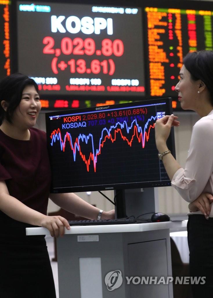 韩股市交易时间延30分钟KOSPI开盘上扬