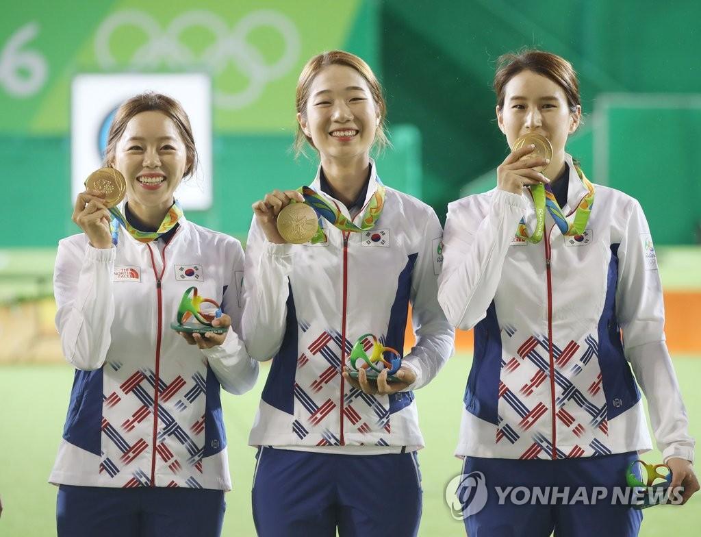 韩女射箭队实现奥运8连冠伟业