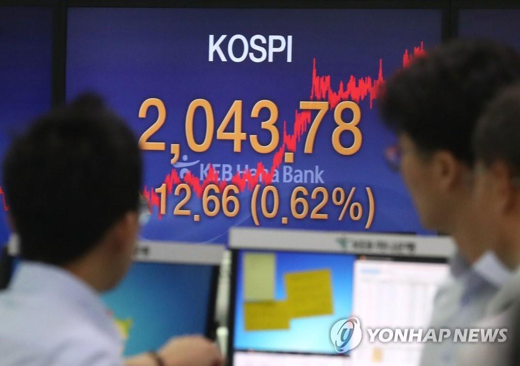 外资助推韩股上涨 KOSPI创下今年来新高