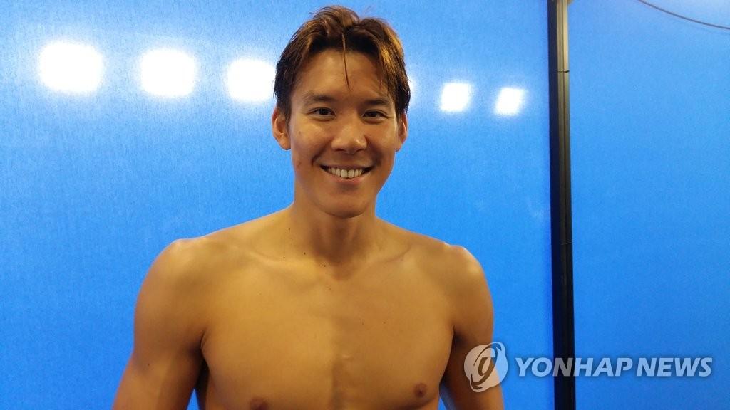 韩国游泳名将朴泰桓遗憾出局