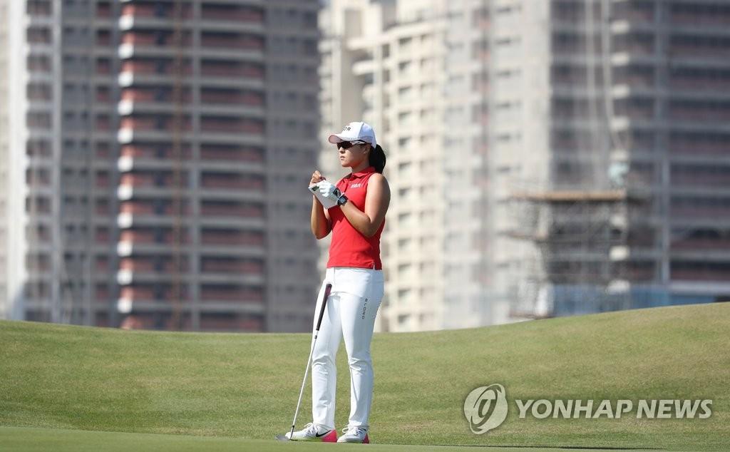 韩国球手田仁智