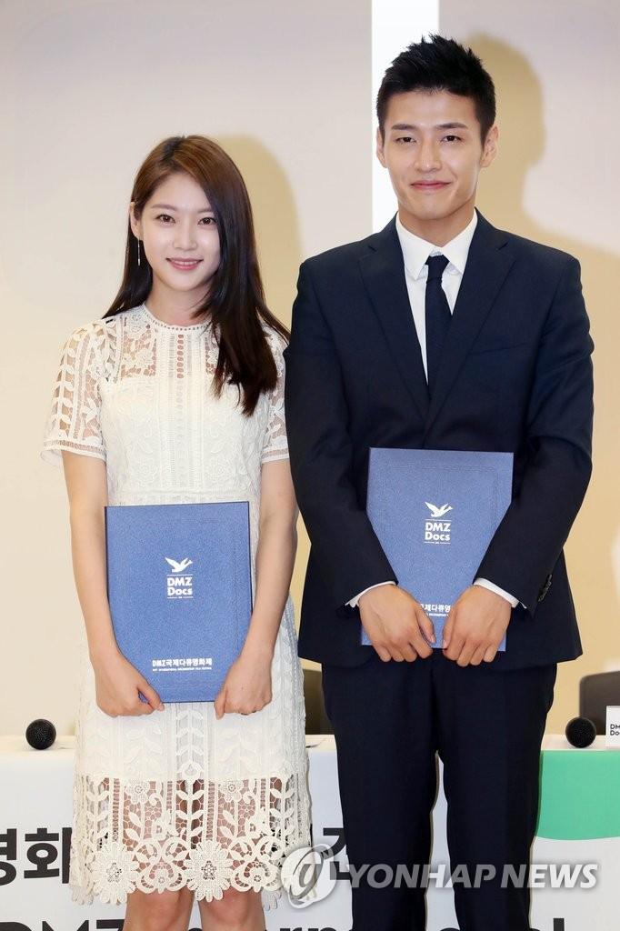 演员孔升妍和姜河那