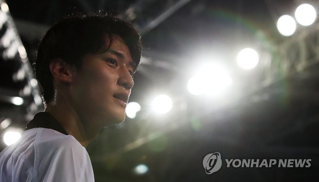 韩国跆拳道名将李大勋