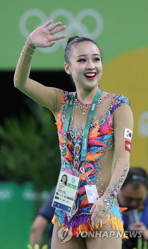 孙延在晋级里约奥运艺体个人全能决赛