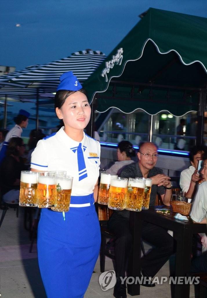 平壤大东江啤酒节