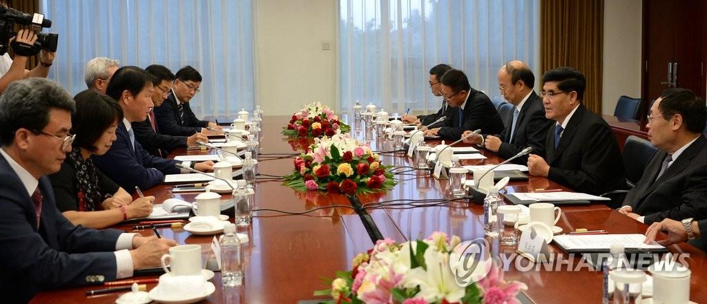 SK集团与中国石化商讨合作事宜