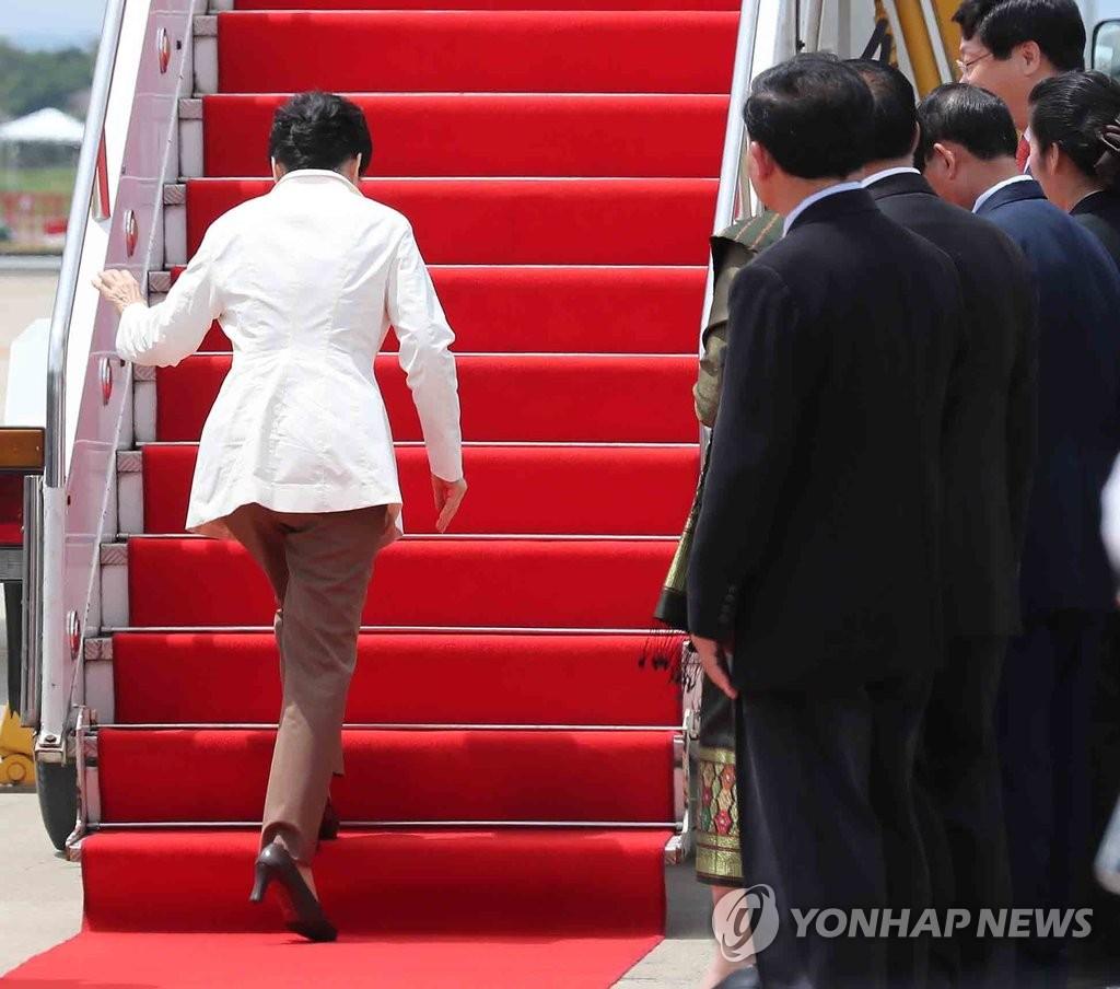 朴槿惠因朝核试提前回国