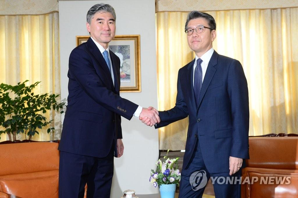 朝核问题六方会谈韩美团长会晤