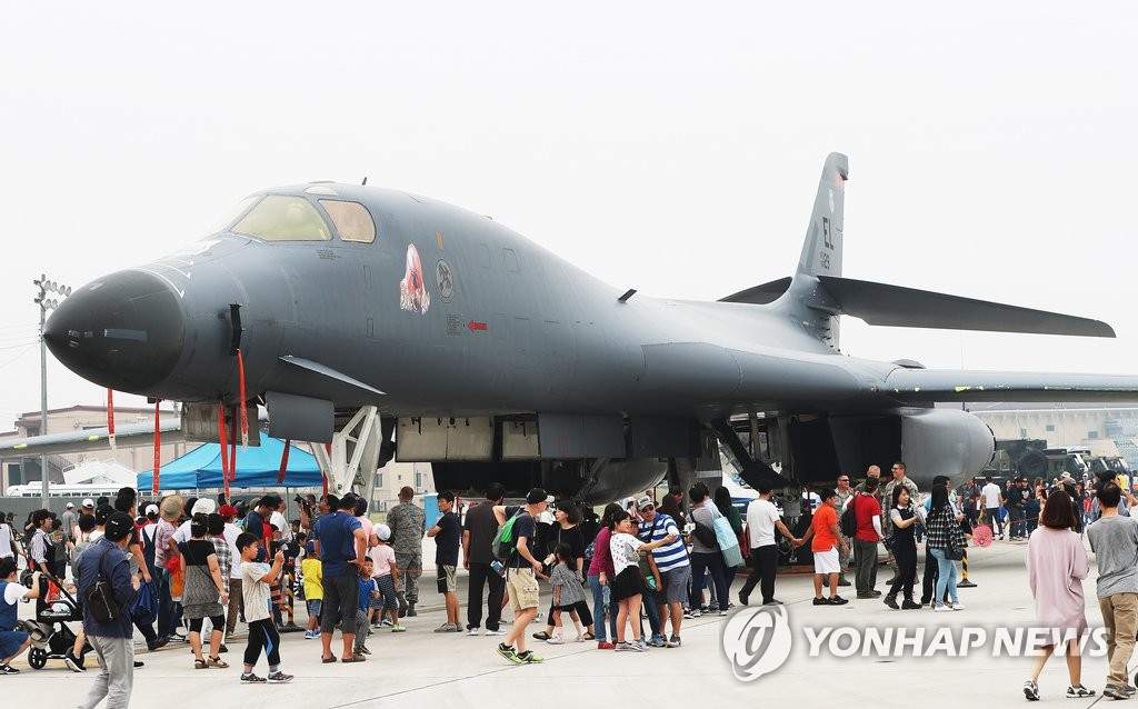 美军B-1B兰斯轰炸机