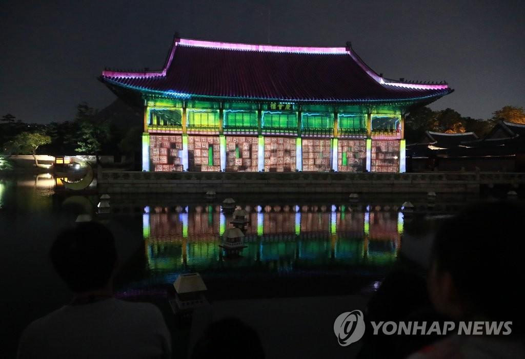 景福宫开放夜间游览