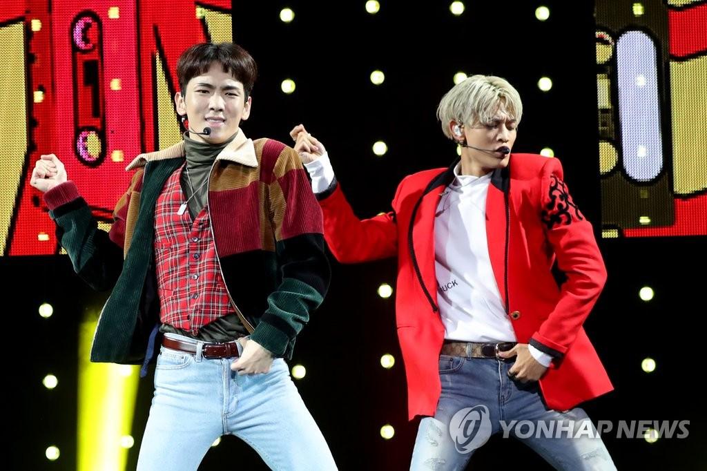 SHINee珉豪和Key