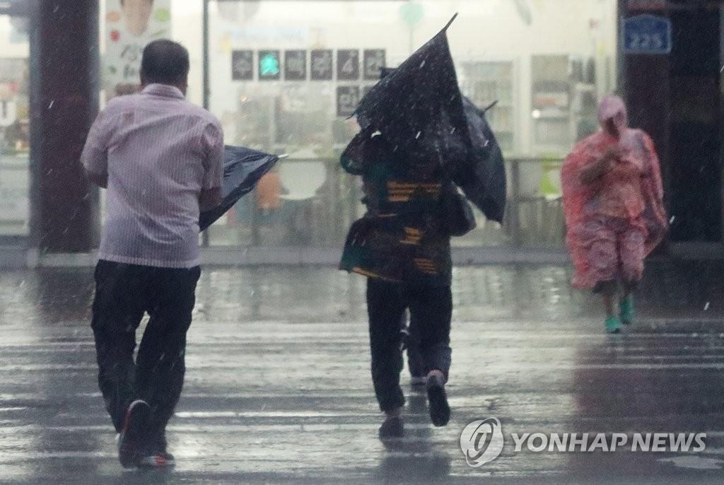 台风登陆进行时
