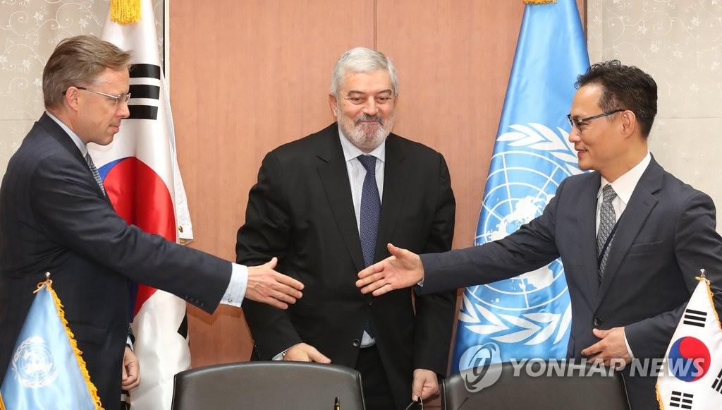 加强与UNDP合作