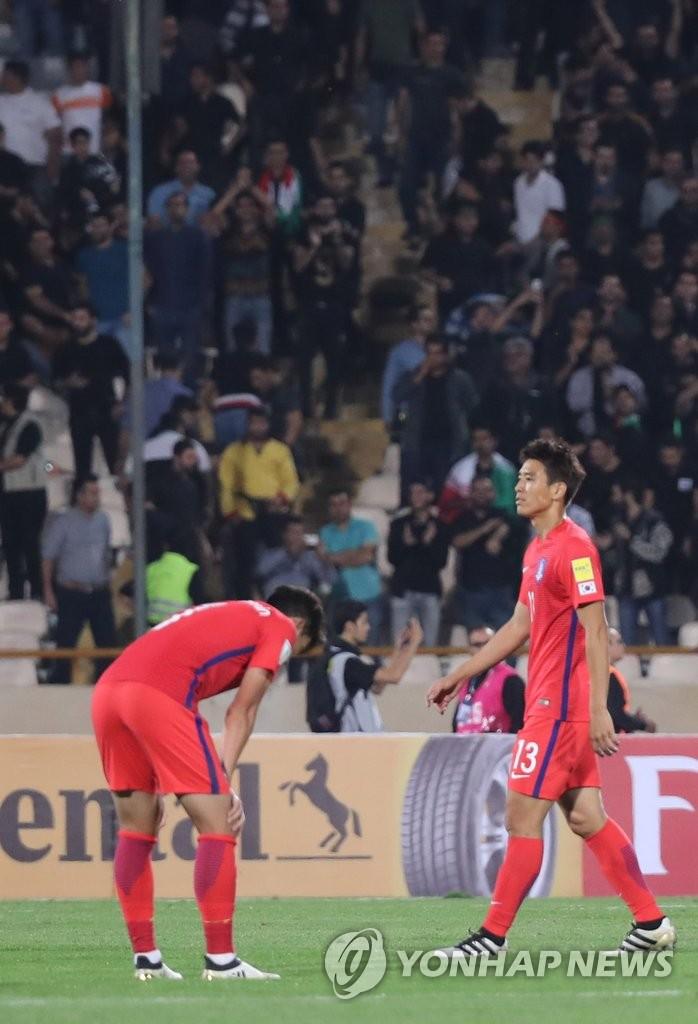 世预赛韩客场0比1不敌伊朗