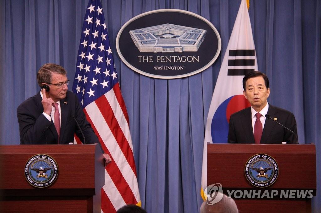 韩防长:在声明中标记特定武器名称缺乏战略考量 - 1