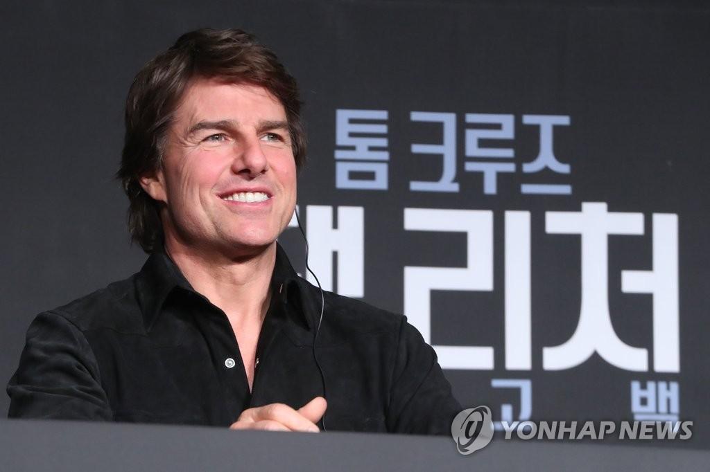 汤姆·克鲁斯来韩宣传新片《侠探杰克2》