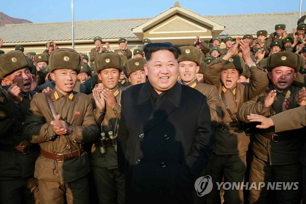 金正恩视察朝鲜军队