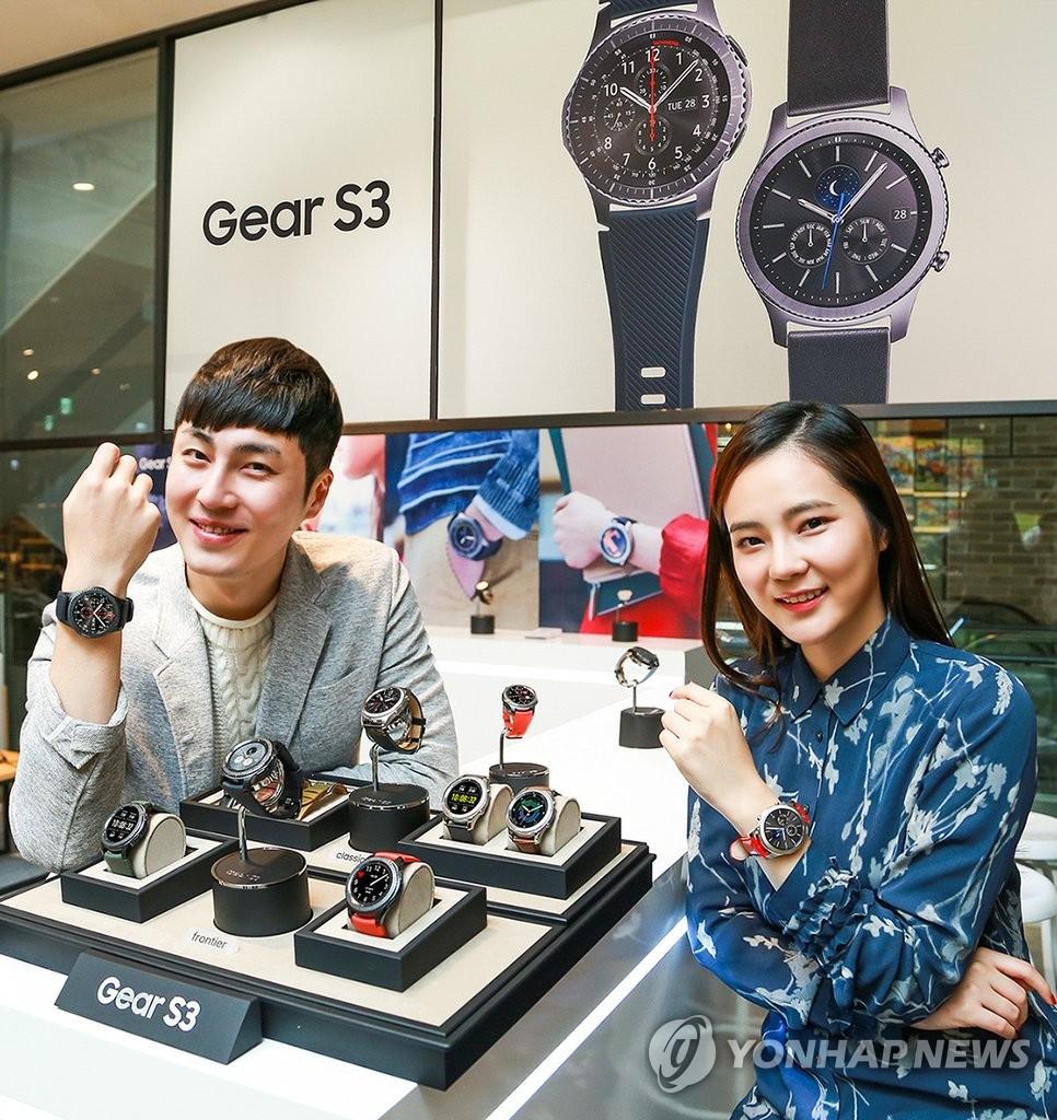 三星Gear S3在韩上市