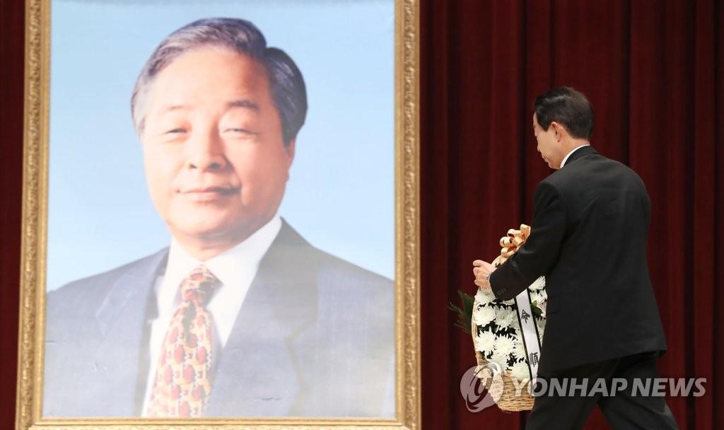 韩前总统金泳三逝世一周年