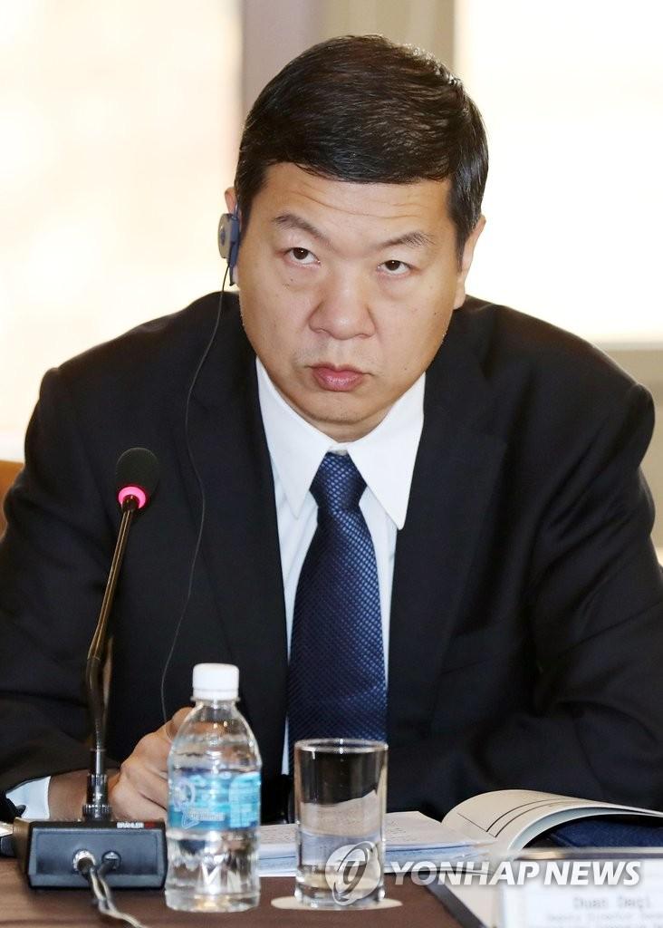 中国公安部国际合作局副局长段大启