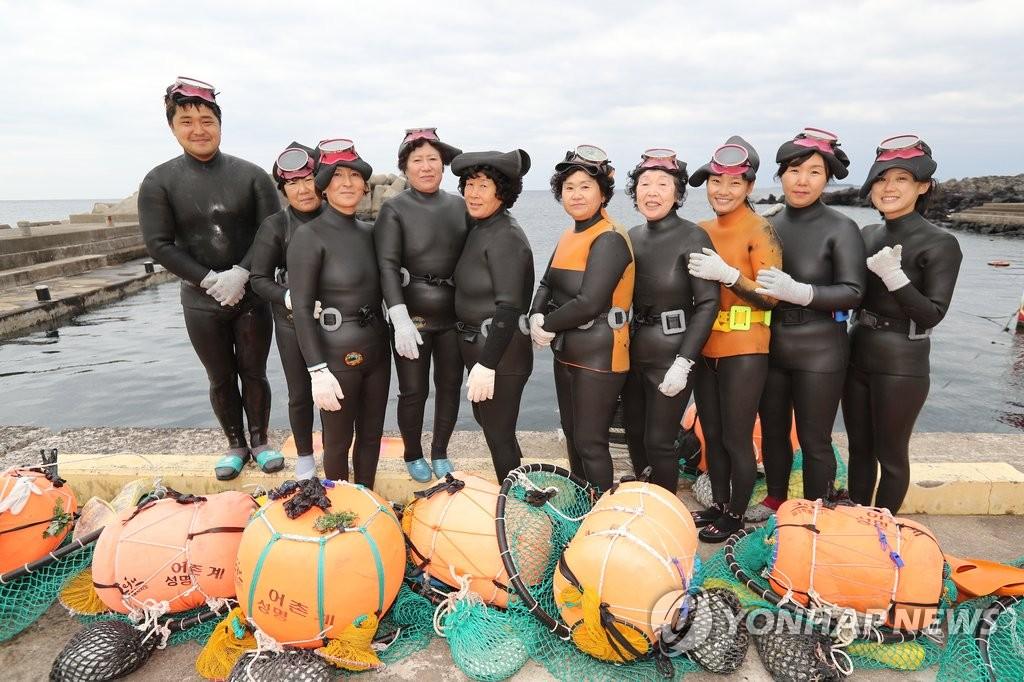 济州海女文化有望入遗
