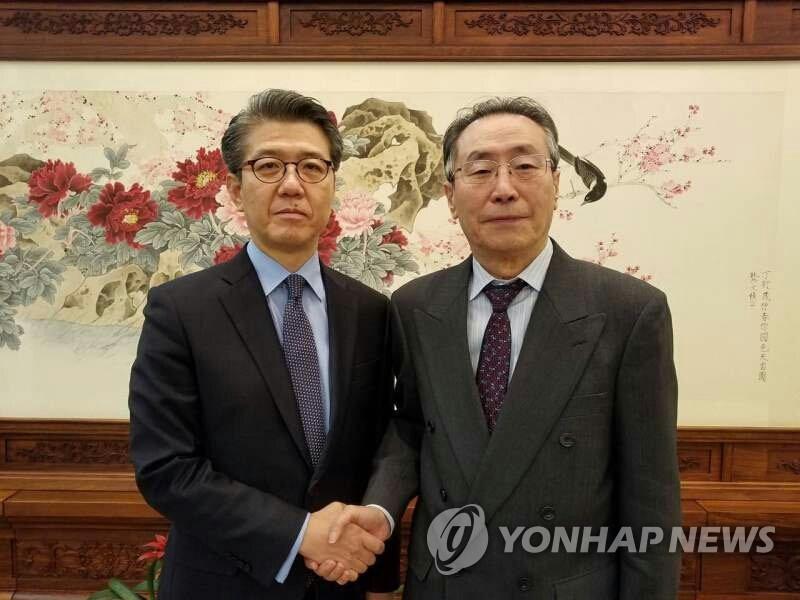 六方会谈韩中团长通话 中方承诺切实执行安理会决议